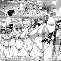 Student-Council Beauties in Midsummer